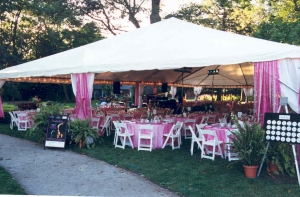 Lighting for Tent Rentals