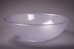 Pebbled Poly Plastic Bowl 18