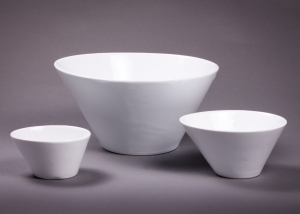 White Irregular Bowl, 5