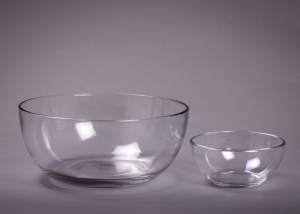 Glass Bowls, Assorted