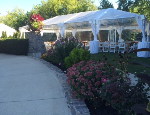 IDMG-Hidden Bench Vinyards #eventrentals #tent #clearroof #IDMG #tent20x40