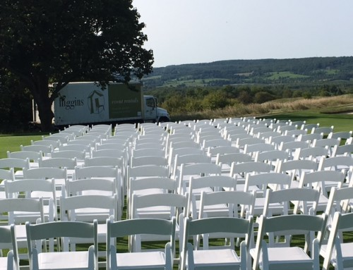 #Wedding2017 (White Resin Folding Chairs)
