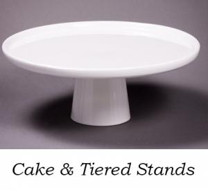 White Porcelain Cake Stand