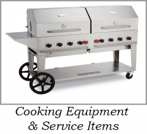 Cooking Equipment & Concession Items