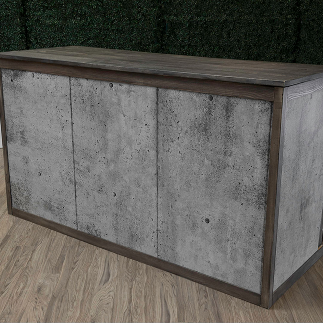 Rustic Portable Folding Bar