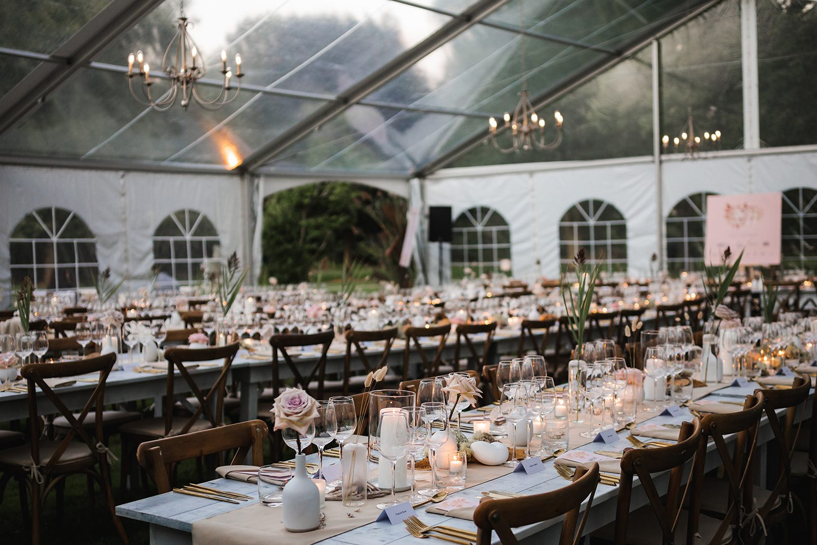 A Tent is wonder place for an event!